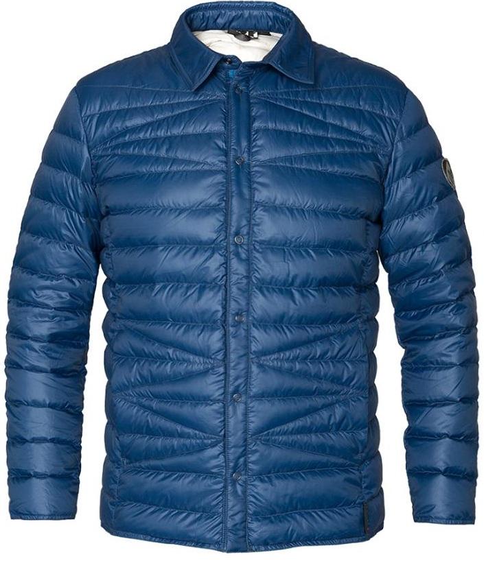 Рубашка пуховая Kami МужскаяРубашки<br><br> Городская пуховая рубашка лаконичного дизайна с оригинальной стежкой. Эргономичная и легкая модель, можно использовать в качестве теплой рубашки в холодное время года или как дополнительный утепляющий слой для сохранения тепла.<br><br> Характер...