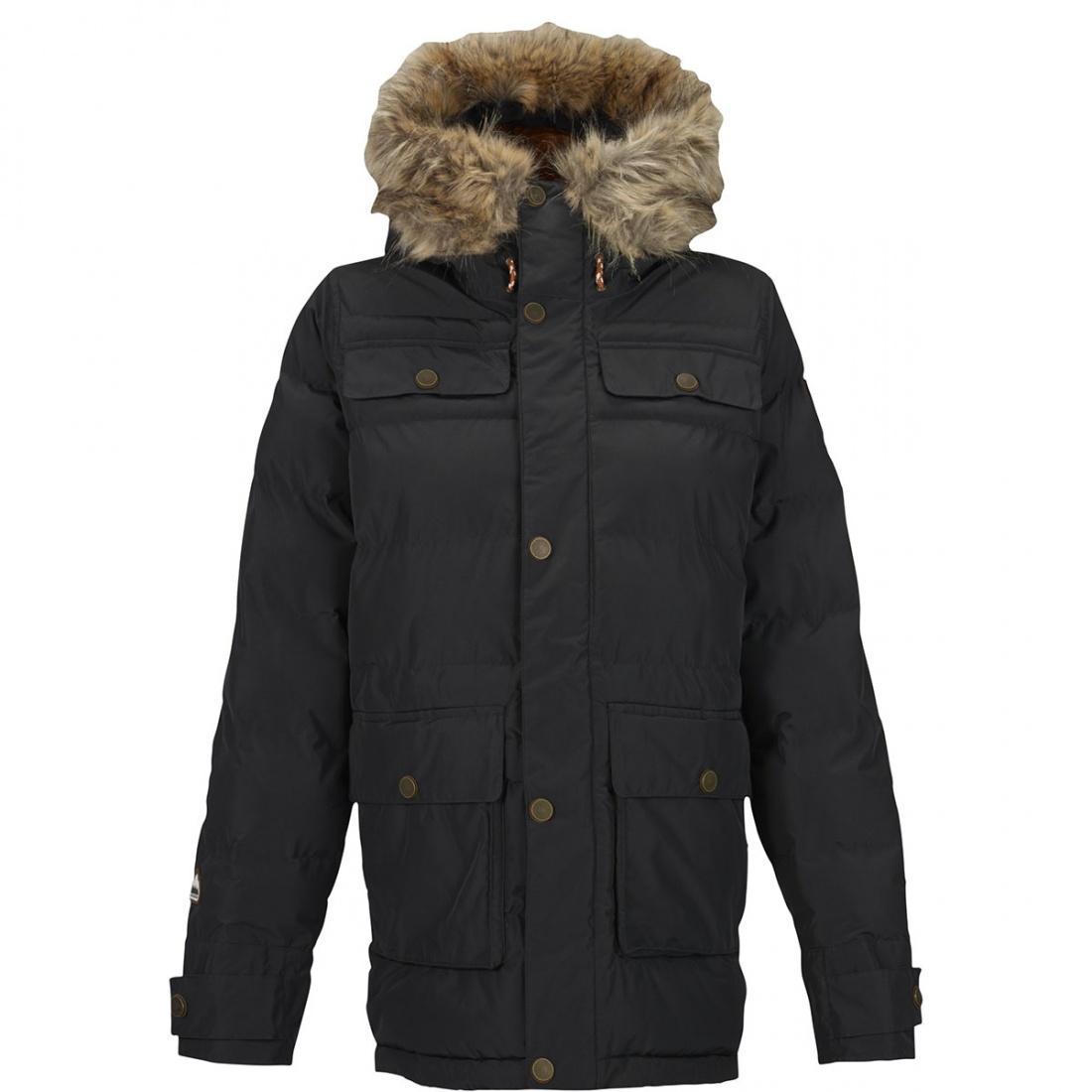 Burton Куртка горнолыжная WB ESSEX PUFFY JK Черный куртка горнолыжная burton burton bu007ewzen60
