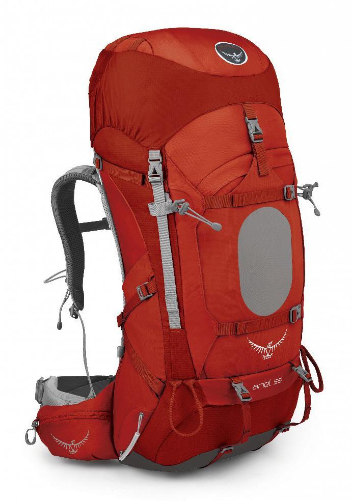 Рюкзак Ariel 55 WomensТуристические, треккинговые<br><br> Как говорится, долгое путешествие требует более спланированной подготовки. Куда вы отправитесь? Как доберетесь до пункта назначения? К...<br><br>Цвет: Красный<br>Размер: 52 л
