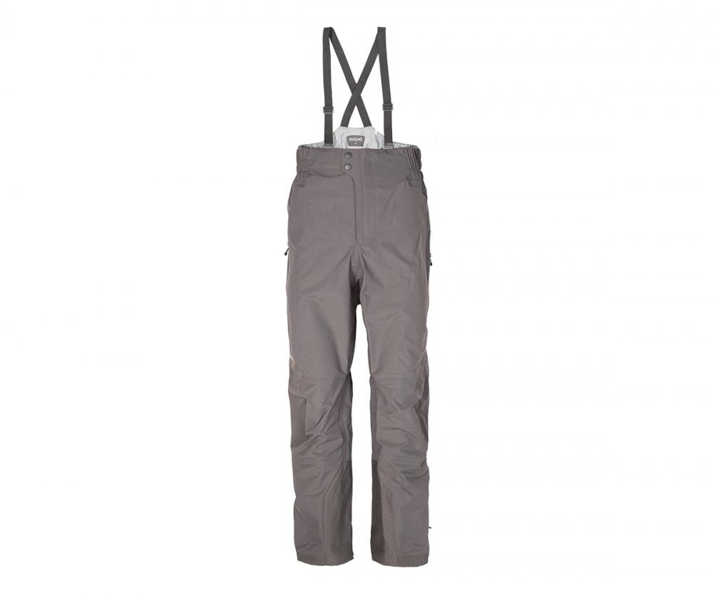 Брюки ветрозащитные VinsonБрюки, штаны<br><br> Классические штормовые брюки, выполненные из очень прочного материала с высокой сопротивляемостью к абразивному износу.<br><br> Основные характеристики<br><br><br>штормовые брюки полностью выполнены из мембранной ткани<br>завышен...<br><br>Цвет: Серый<br>Размер: 50