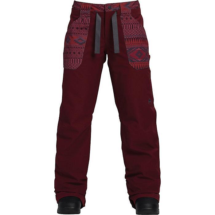 Штаны WB VEAZIE PTБрюки, штаны<br><br> Женские сноубордические штаны Burton VEAZIE свободного кроя идеально подойдут для катания по горным склонам. Двухслойная дышащая водонепроницаемая мембрана DRYRIDE™, полностью проклеенные швы и теплая подкладка Living Lining гарантируют превосходну...