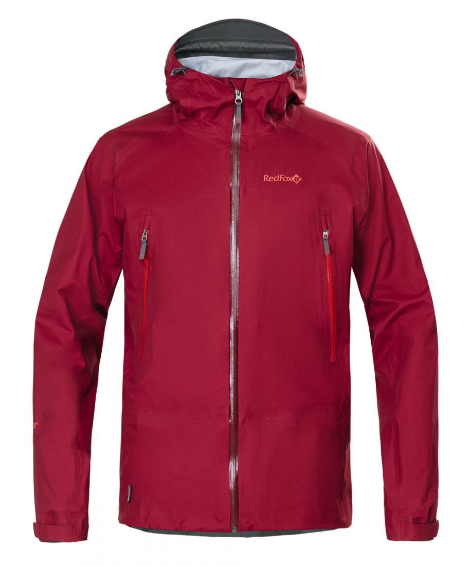RedFox Куртка ветрозащитная Vector GTX IV Мужская (48, 1100/бордовый, , ,)  недорого