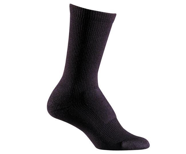 Носки турист. жен. 2525 MERINO HIKERНоски<br>Мы были первыми, кто создал специальные носки с учетом особенностей строения женской стопы. Эти носки идеально подходят для долгих прогулок, скалолазания и походов, обеспечивая амортизацию там, где необходимо.<br><br><br>Система URfit™<br>&lt;l...<br><br>Цвет: Черный<br>Размер: M