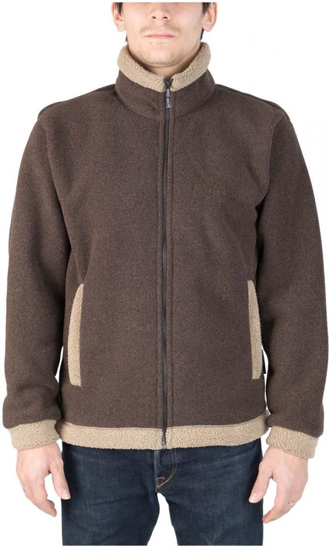 Куртка Cliff II МужскаяКуртки<br><br> Модель курток cliff признана одной из самых популярных в коллекции Red Fox среди изделий из материаловPolartec®: универсальна в применении, обладает стильным дизайном, очень теплая.<br><br><br>Материал –Polartec® 300, 100% PolyesterKnit, ...<br><br>Цвет: Коричневый<br>Размер: 54
