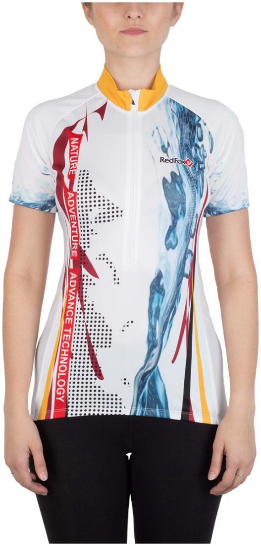 Футболка Velo-Dry Jersey WФутболки, поло<br><br> Легкая и функциональная футболка для велоспорта с коротким рукавом из стрейчевого материала с высокимивлагоотводящими показателями...<br><br>Цвет: Белый<br>Размер: 42