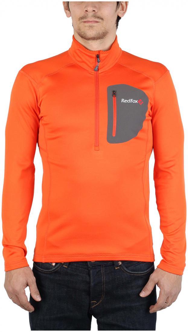 Пуловер Z-Dry МужскойПуловеры<br>Спортивный пуловер, выполненный из эластичного материала с высокими влагоотводящими характеристиками. Идеален в качестве зимнего термобелья или среднего утепляющего слоя.<br> <br><br>Материал: 94% Polyester, 6% Spandex, 290g/sqm.<br> <br>...<br><br>Цвет: Оранжевый<br>Размер: 48