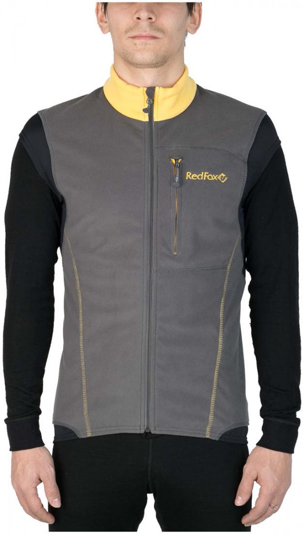 Жилет Wind Vest IIЖилеты<br><br> Удобный спортивный жилет для использования в качестве промежуточного или верхнего утепляющего слоя. Передняя часть жилета выполнена из материала Polartec® Windbloc® для защиты от ветра, задняя часть выполнена из эластичного материала Polartec® Powe...<br><br>Цвет: Темно-желтый<br>Размер: 52