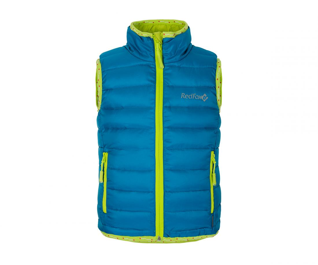 Жилет пуховый Air KidsЖилеты<br>Сверхлегкий пуховый жилет. Прекрасно подходит в качествеутепляющего слоя под куртку или как самостоятельный элементгардероба, наприм...<br><br>Цвет: Голубой<br>Размер: 128