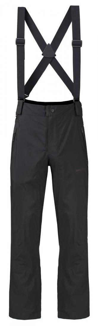 Брюки ветрозащитные Vector GTX II МужскиеБрюки, штаны<br>Штормовые брюки из материала GORE-TEX®.<br> <br><br>Материал – GORE-TEX® Products, Nylon 100 г/м2.<br>Посадка – Alpine Fit.<br>Ассиметричный край прикрывает поясницу.<br>Непромокаемые молнии от низа штанин до верхней тре...<br><br>Цвет: Черный<br>Размер: 56