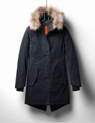 фото Куртка утепленная с мехом жен.Montana ll