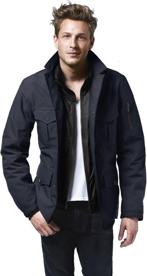 Куртка утепленная муж.PioneerКуртки<br><br><br>Цвет: Темно-синий<br>Размер: L