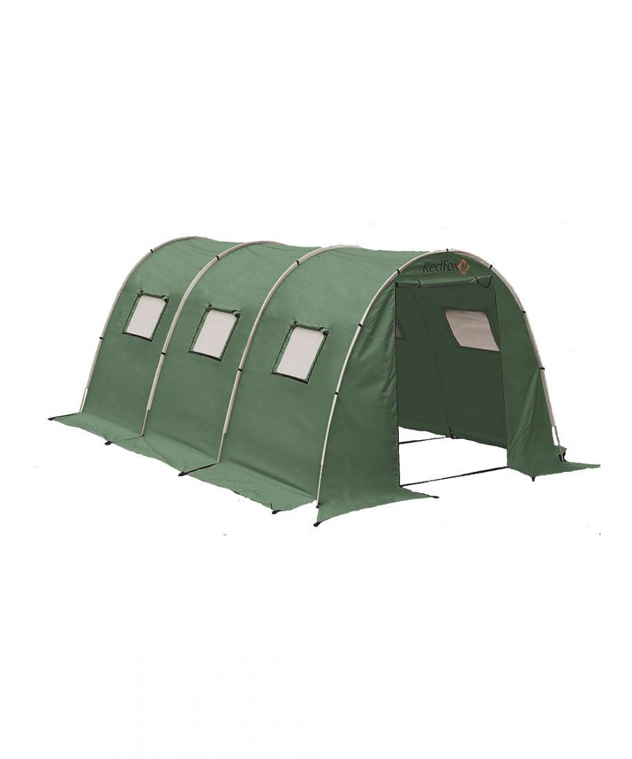 Палатка Team Fox 2Кемпинговые, для базового лагеря<br><br> Вместительная палатка для базового лагеря. Модель прекрасно подходит для использования в качестве портативного офиса, столовой или радиорубки. Это прочная ветроустойчивая, удобная в установке палатка благодаря высокотехнологичной конструкции каркас...<br><br>Цвет: Зеленый<br>Размер: None