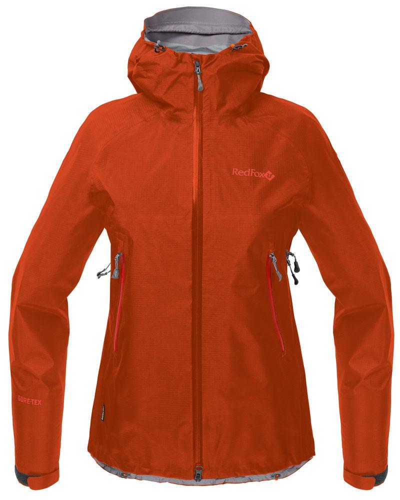 Куртка ветрозащитная Vega GTX III ЖенскаяКуртки<br>Классическая штормовая куртка, выполненная из материала GORE-TEX® Products. Надежно защищает от дождя и ветра, не стесняет движений, удобна для путешествий и активного отдыха.<br><br>назначение: Горные походы, туризм, походы<br>эргоном...<br><br>Цвет: Оранжевый<br>Размер: 48