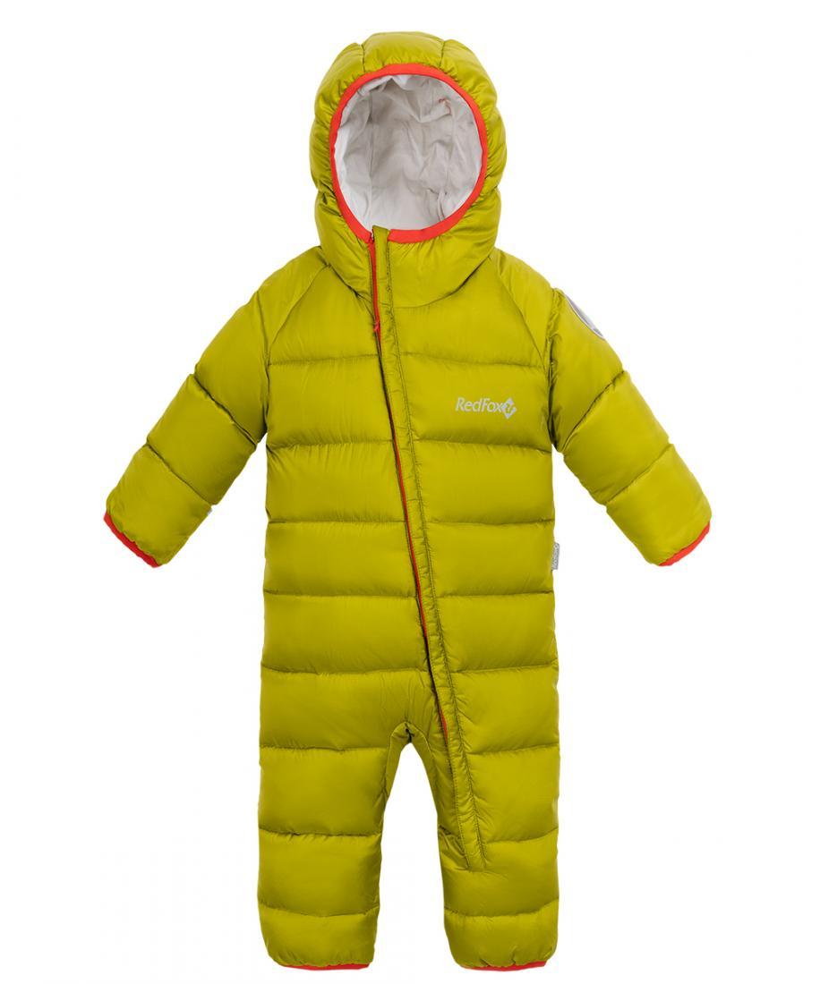 Комбинезон пуховый Pupa III ДетскийКомбинезоны<br>Легкий пуховый комбинезон. Глубокий капюшон с окантовкой, отворачивающиеся манжеты на рукавах и эластичные штрипки на брюках надежно защищают от холода и ветра. Идеален для активных прогулок зимой.<br><br>Материал: 100% Polyester, Ripstop, 30D,...<br><br>Цвет: Желтый<br>Размер: 80