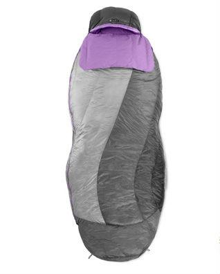 Спальный мешок пуховый Ws Rhapsody™ 30Спальные мешки<br><br><br>Цвет: Серый<br>Размер: None