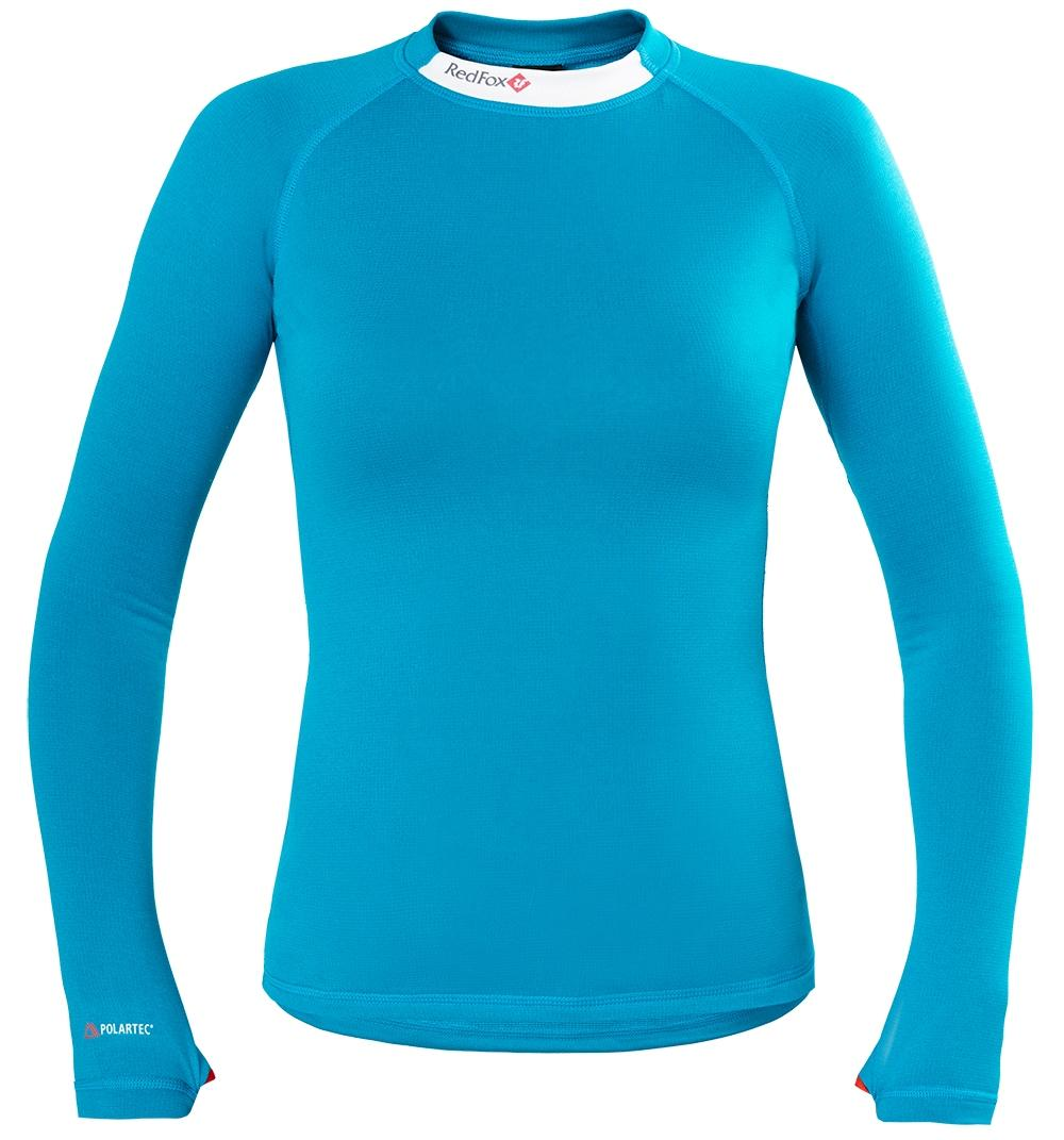 Термобелье футболка с длинным рукавом Classic Dry II ЖенскаяФутболки<br><br>Лёгкая и технологичная футболка, выполненная из материала Polartec® Power Dry®, обладает превосходными характеристиками паропроницаемости и отвода влаги. Идеальна в качестве базового слоя при занятиях высокоактивными видами спорта.<br><br><br>...<br><br>Цвет: Бирюзовый<br>Размер: 42