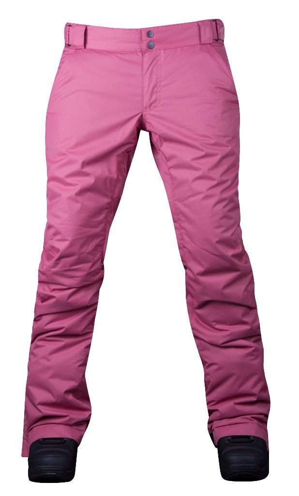 Штаны сноубордические утепленные Pure женскиеБрюки, штаны<br>Женские утепленные штаны, которые не увеличивают формы! За счет правильного кроя и удачной посадки сноубордические штаны Pure W сохраняют т...<br><br>Цвет: Розовый<br>Размер: 50