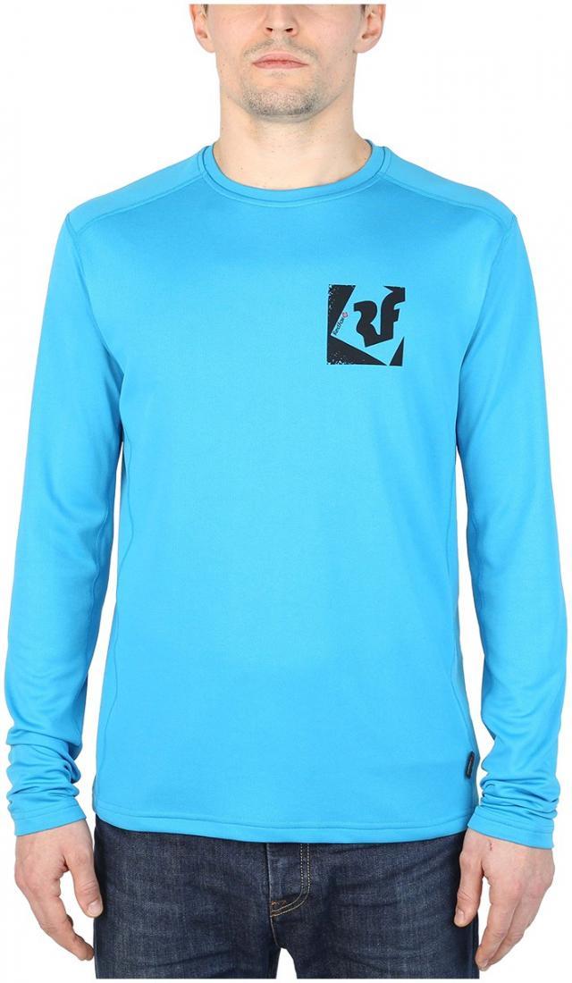 Футболка Trek T LS МужскаяФутболки, поло<br><br> Легкая и функциональная футболка, выполненная из влагоотводящего и быстросохнущего материала.<br><br><br>основное назначение: горные п...<br><br>Цвет: Голубой<br>Размер: 48