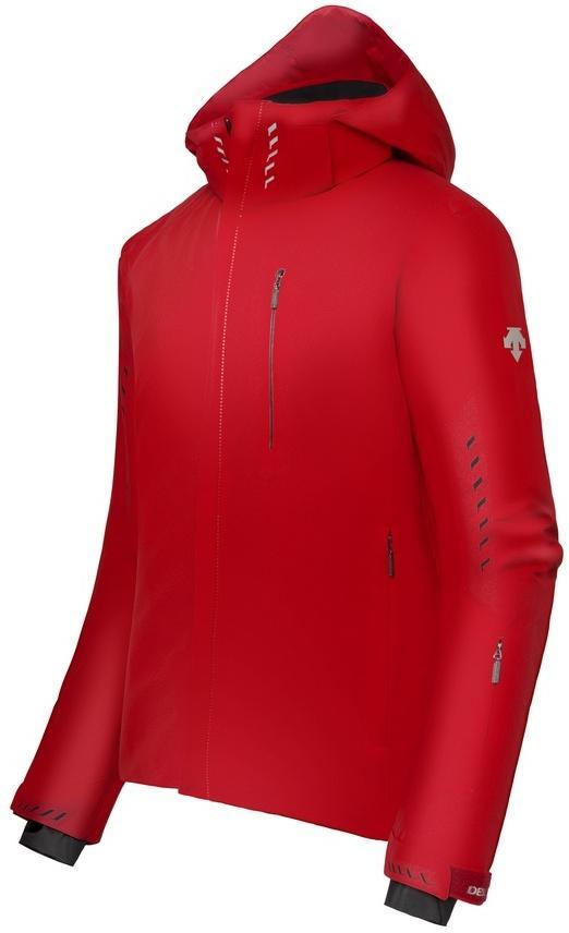 Куртка Zeal муж.Куртки<br>Куртка идеально укомплектована для комфортного катания на лыжах. Минималистский дизайн, внешняя эластичная ткань DG Stretch и полный спектр технических особенностей позволяют использовать ее как на горнолыжных склонах, так и в повседневной жизни. Утепл...<br><br>Цвет: Красный<br>Размер: 56