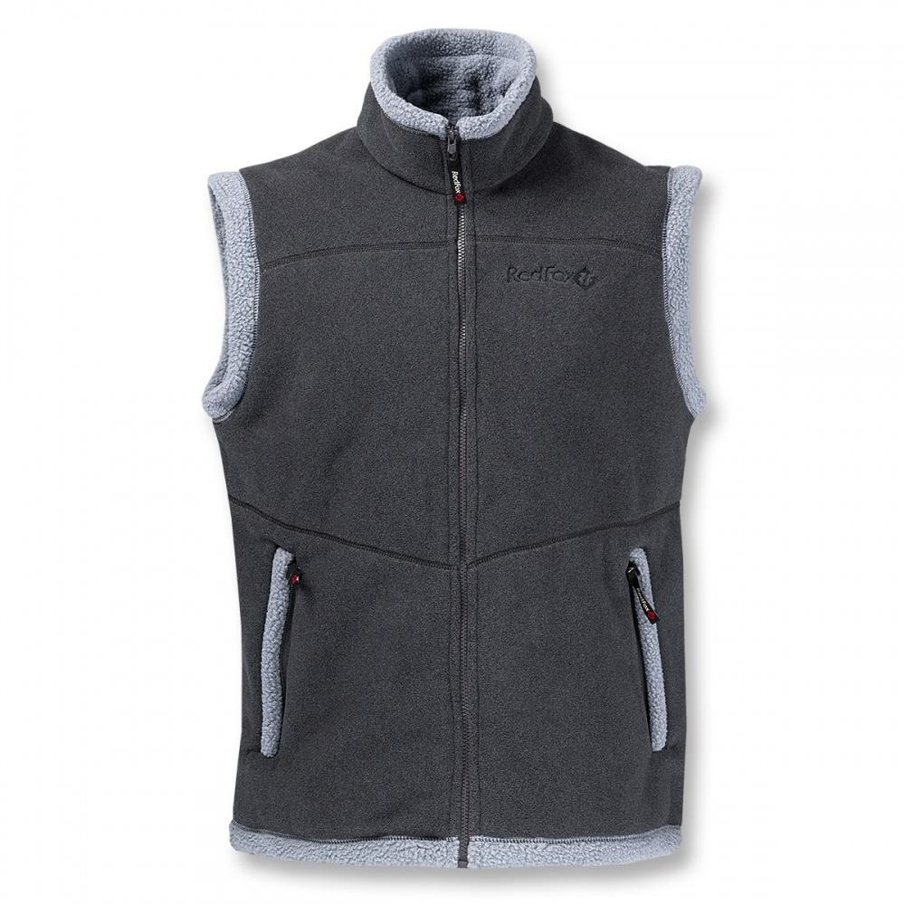 Жилет LhasaЖилеты<br><br> Очень теплый жилет из материала Polartec® 300, выполненный в стилистике куртки Cliff.<br><br><br> Основные характеристики<br><br><br><br><br>воротник – стойка<br>два боковых кармана на молниях<br>декоративная отделка&lt;/li...<br><br>Цвет: Серый<br>Размер: 54