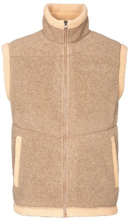 Жилет Lhasa IIЖилеты<br>Очень теплый жилет из материала Polartec® Classic 300, выполненный в стилистике куртки Cliff.<br><br>основное назначение: загородный отдых<br>воротник – стойка<br>два боковых кармана на молниях<br>декоративная отделка&lt;/...<br><br>Цвет: Коричневый<br>Размер: 52