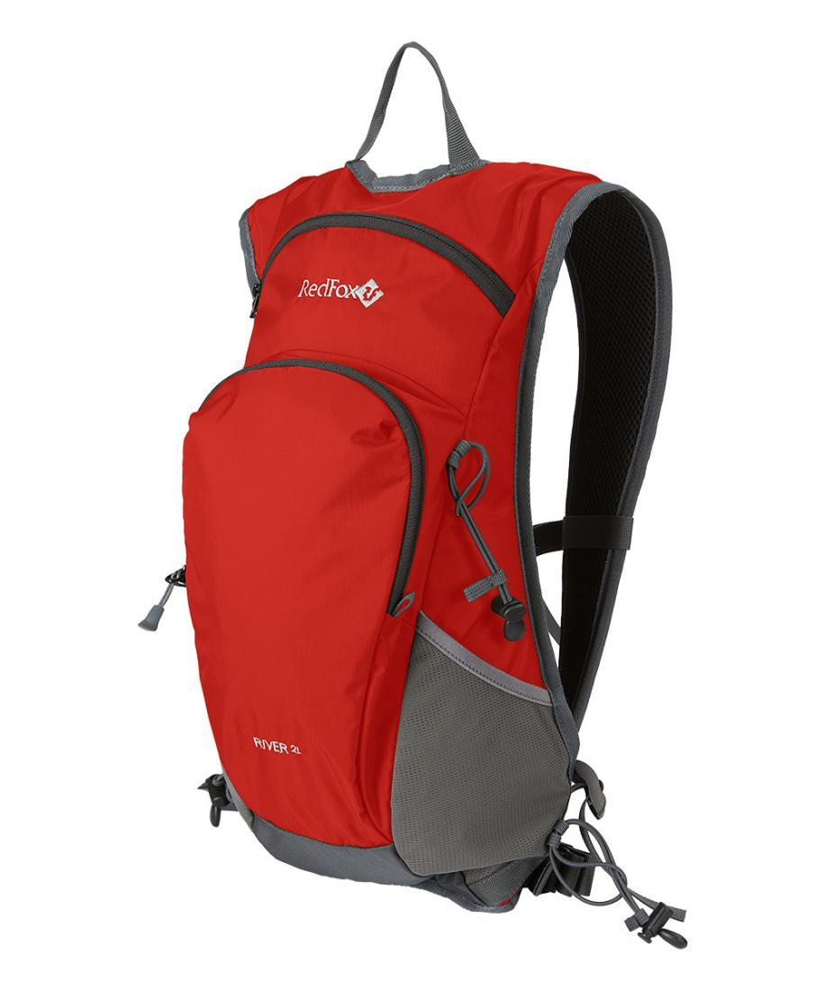 Рюкзак River 2LСпортивные<br>Рюкзак для беговых и фитнес тренировок.<br><br>отделение для питьевой системы<br>небольшое отделение под куртку<br>комфортные плечевые лямки<br>нагрудные и боковые стяжки<br>светоотражающие элементы<br><br> О...<br><br>Цвет: Красный<br>Размер: None