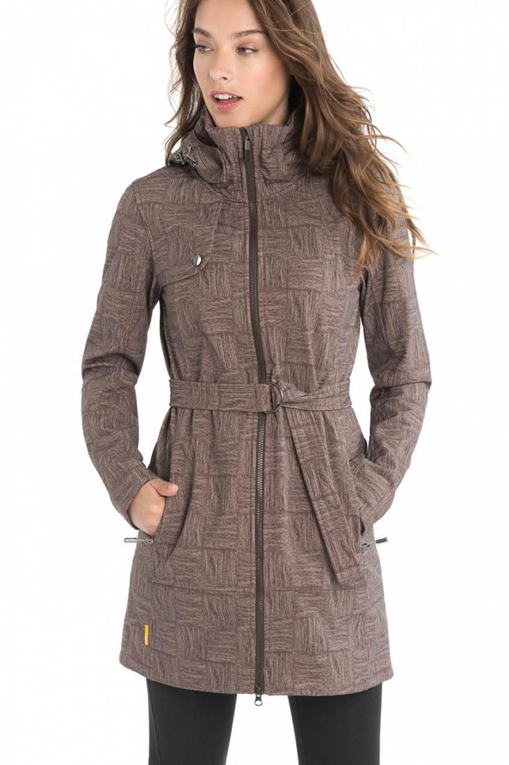 Куртка LUW0317 GLOWING JACKETКуртки<br><br> Стильное пальто Glowing из материала Softshell уютно согреет и защитит от ненастной погоды ранней весной или осенью. Приятная фактура материал...<br><br>Цвет: Коричневый<br>Размер: S