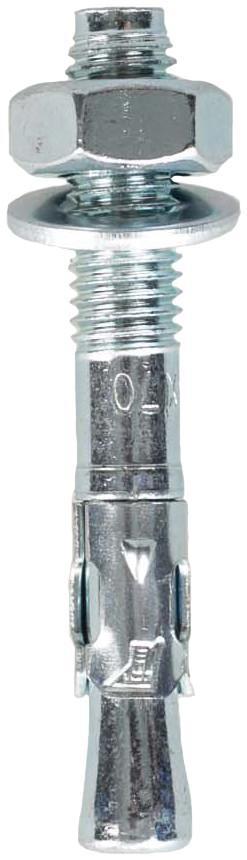 Болт #012 Покрытый металлом Сталь от Fixe