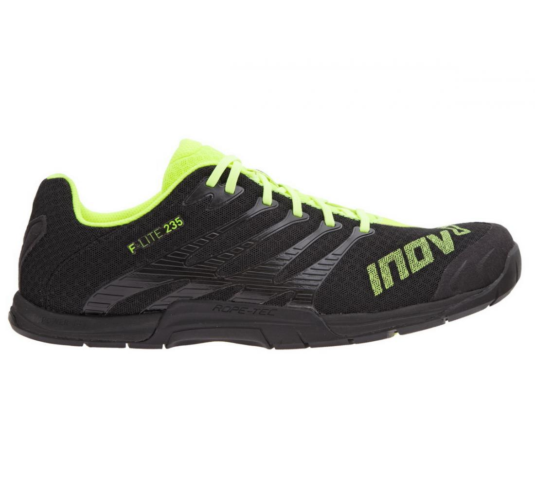 Inov-8 Кроссовки F-Lite 235 муж. (8, Black/Yellow, ,) inov 8 питьевая система 2l reservoir clear black