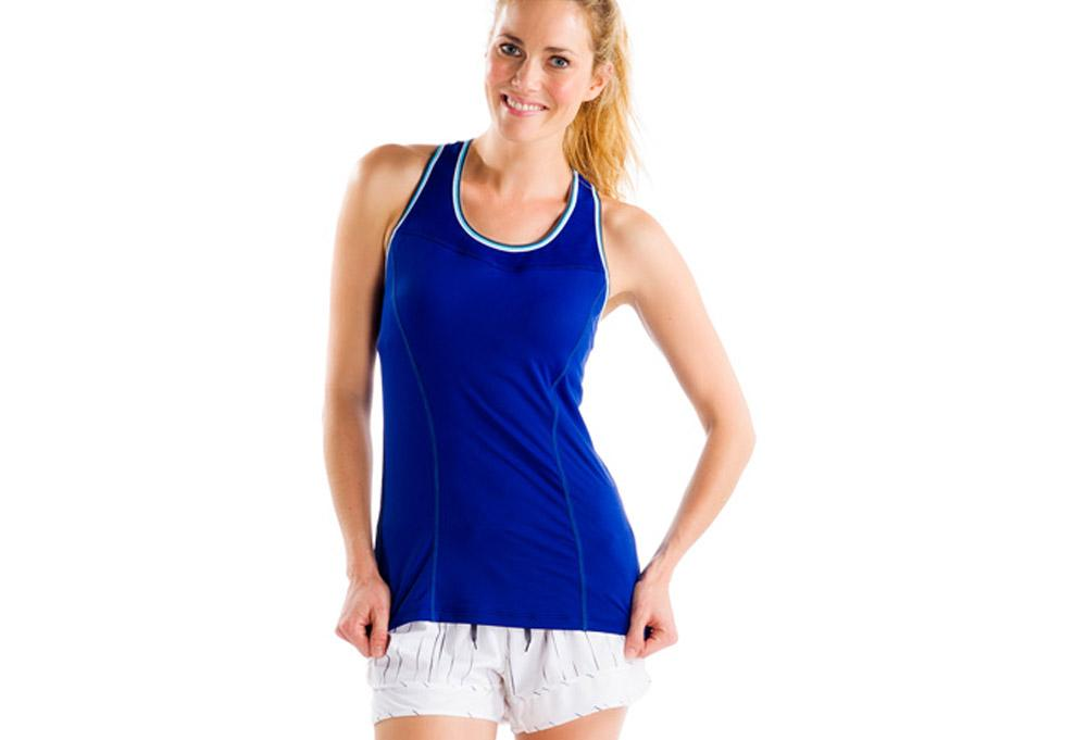 Lole Топ LSW0907 CENTRAL 2 TANK TOP (L, SOLIDATE BLUE, ,) lole куртка lsw1708 kigali jacket s vallarta blue heather