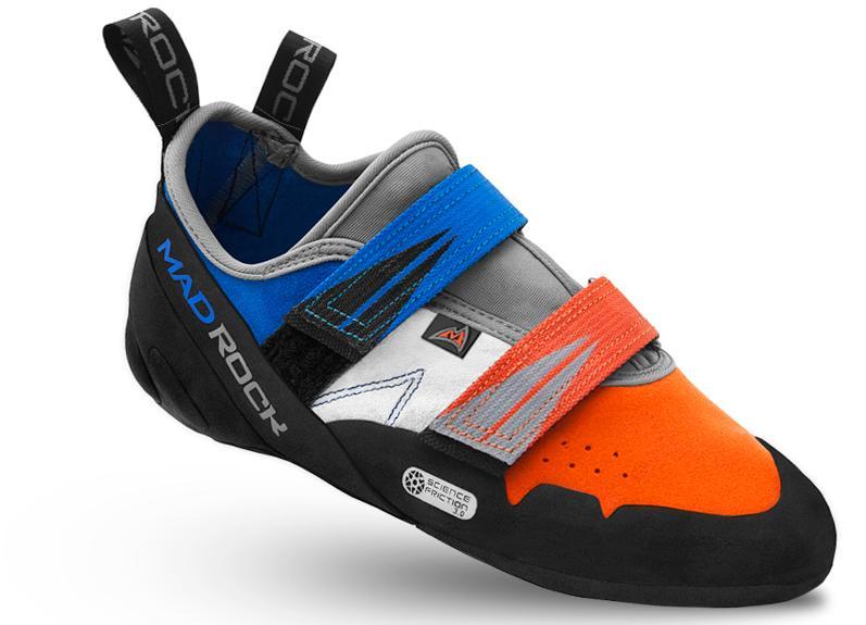 Скальные туфли AGAMAСкальные туфли<br>Универсальная модель для соревнований, тренировок и болдеринга. В скальных туфлях Agama вы с комфортом можете лазать по скалам в течение всего дня.<br><br>комфортная колодка<br>носок равномерной круглой формы<br>удобная посадка&lt;/l...<br><br>Цвет: Оранжевый<br>Размер: 10