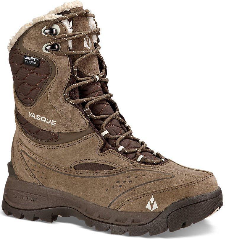 Ботинки жен. 7813 Pow Pow 2Треккинговые<br>Pow Pow II - это «пуховка для ваших ног». Зимние ботинки с подкладкой из овчины, утеплителем 400 г 3M™ Thinsulate™ Ultra и стелькой EVA двойной плотности д...<br><br>Цвет: Коричневый<br>Размер: 9
