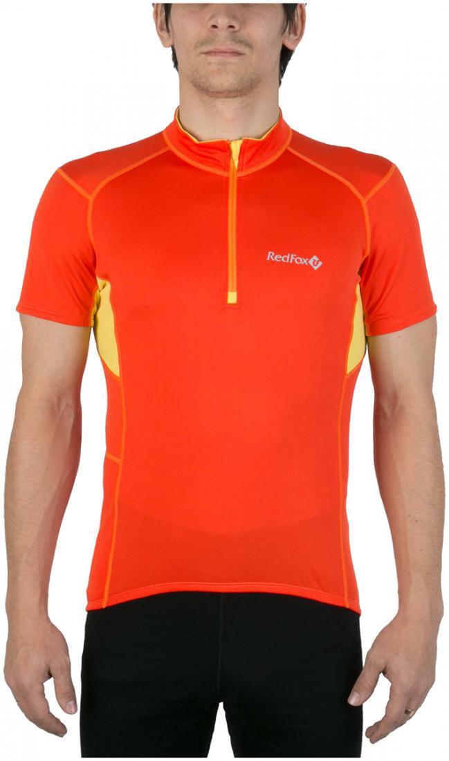 Футболка Trail T SS МужскаяФутболки, поло<br><br> Легкая и функциональная футболка с коротким рукавом из материала с высокими влагоотводящими показателями. Может использоваться в качестве базового слоя в холодную погоду или верхнего слоя во время активных занятий спортом.<br><br><br>основно...<br><br>Цвет: Оранжевый<br>Размер: 48