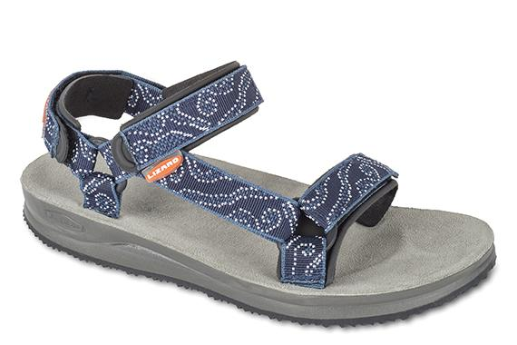 Сандалии SH WomenСандалии<br>Идеальные сандалии для поклонниц outdoor. Легкие, удобные, прочные, универсальные, обеспечивают прекрасное сцепление с поверхностью.<br><br>Верх: тройная конструкция из текстильной стропы с боковыми стяжками и застежками Velcro для прочной фикс...<br><br>Цвет: Синий<br>Размер: 41