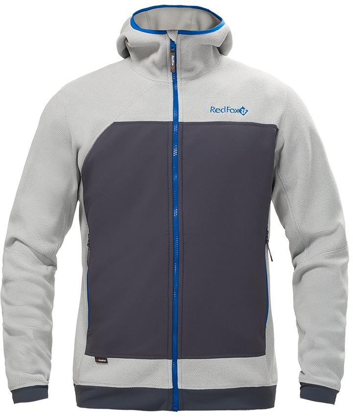 Куртка Ozone МужскаяКуртки<br>Куртка Ozone выполнена из комбинации материала Polartec® и стрейчивых вставок на спине и спереди. Куртку можно использовать в качестве среднего слоя в холодную погоду или как наружный слой – в тёплую.<br>Куртка прекрасно сохраняет тепло и обеспечивае...<br><br>Цвет: Серый<br>Размер: S
