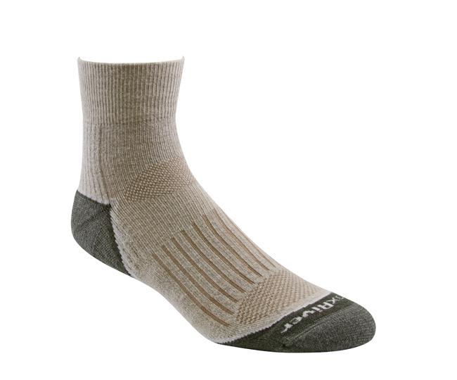 Носки турист.2457 TRAIL QTRНоски<br><br> Тонкие носки с идеальной посадкой. Благодаря уникальной системе переплетения волокон wick dry®, влага быстро испаряется с поверхности кожи, сохраняя ноги в комфорте.<br><br><br>Система URfit™<br>Специальные вентилируемые вставки эффе...<br><br>Цвет: Темно-серый<br>Размер: M