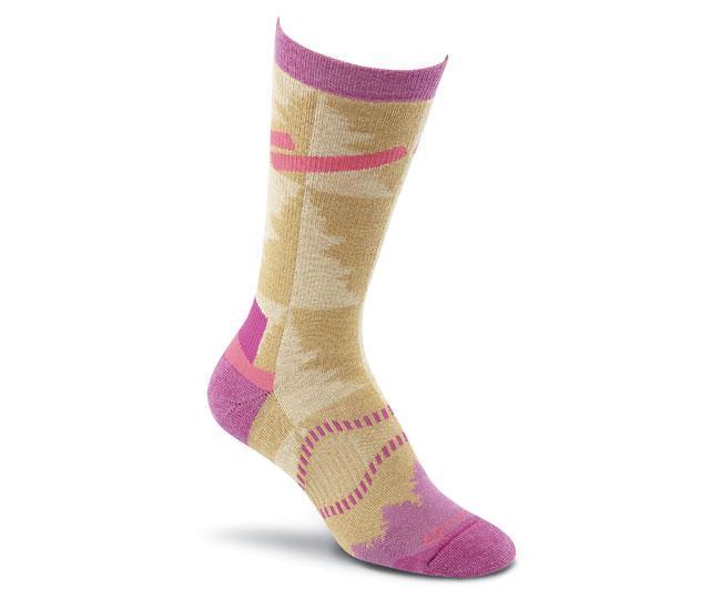 Носки турист. 2535 Cypress Crew жен.Носки<br>Эти носки средней толщины подходят для любых приключений. Они изготовлены из устойчивых волокон TENCEL® и мериносовой шерсти, благодаря чему ваши ноги будут в сухости и тепле. <br>Эксклюзивная конструкция Helix Fit™обеспечивает бесподобную посадку и объе...<br><br>Цвет: Бежевый<br>Размер: M
