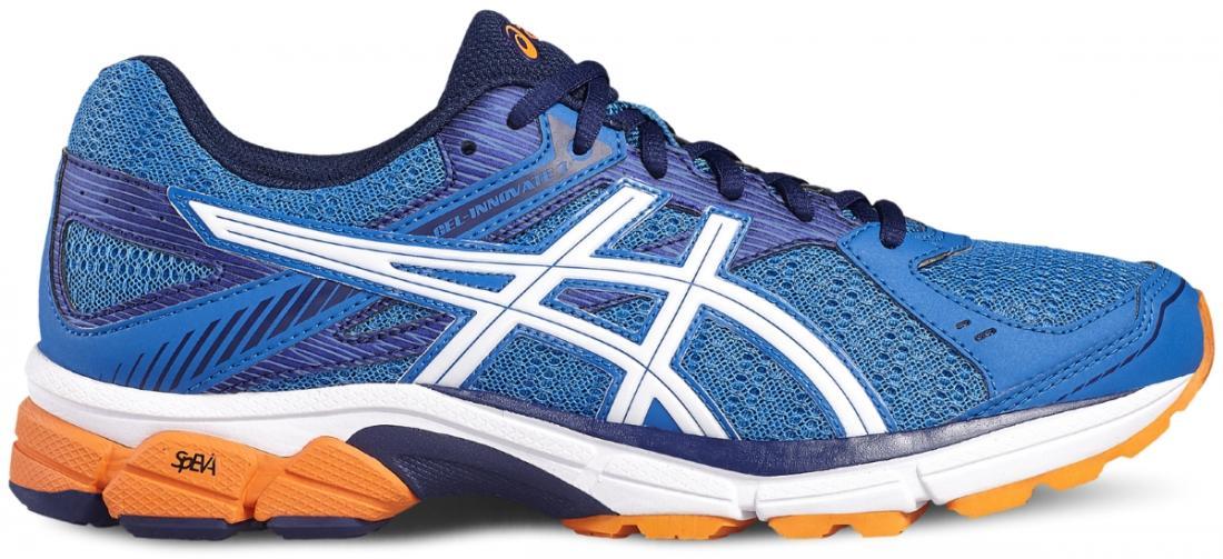 Кроссовки GEL-INNOVATE 7 мужБег, Мультиспорт<br>В первоклассных кроссовках GEL-INNOVATE 7  для спортсменов с гиперпронацией можно смело совершать забеги на более длинные дистанции. Благодаря...<br><br>Цвет: Синий<br>Размер: 11.5