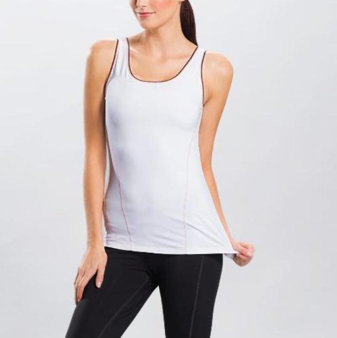 Топ LSW0933 SILHOUETTE UP TANK TOPФутболки, поло<br><br> Silhouette Up Tank Top LSW0933 – простая и функциональная футболка для женщин от спортивного бренда Lole. Модель имеет широкий вырез на спине, придающий ей открытость и сексуальность, удобный анатомический крой, встроенный бюстгальтер. Справа преду...<br><br>Цвет: Белый<br>Размер: XXS