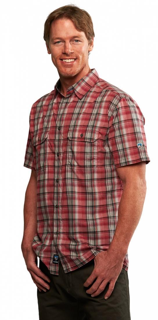 Рубашка Response муж.Рубашки<br><br><br> Мужская рубашка Kuhl Response с коротким рукавом и отложным воротником – это отличный вариант для летнего от...<br><br>Цвет: Красный<br>Размер: XL