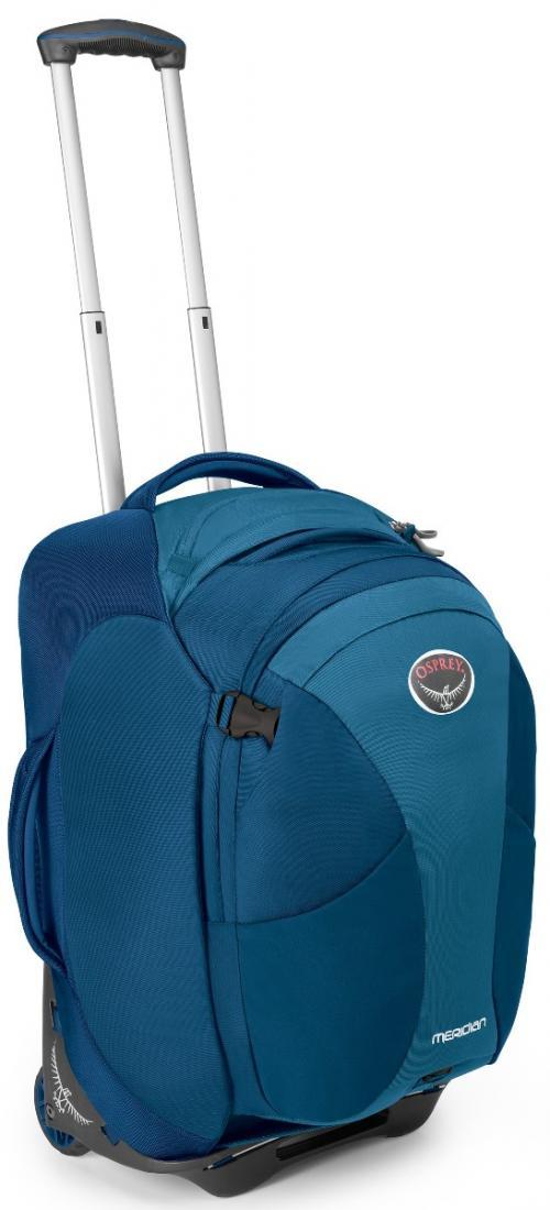 Сумка-рюкзак на колёсах Meridian 60Сумки<br>Удовольствие от путешествия заключается как раз в том, что вы не знаете, что ждет за углом. Камни? Песок? Ступеньки? С сумкой серии Meridian, легко трансформирующейся в рюкзак, вы окажетесь, максимально мобильны в любом путешествии. Она обладает надежн...<br><br>Цвет: Зеленый<br>Размер: 60 л