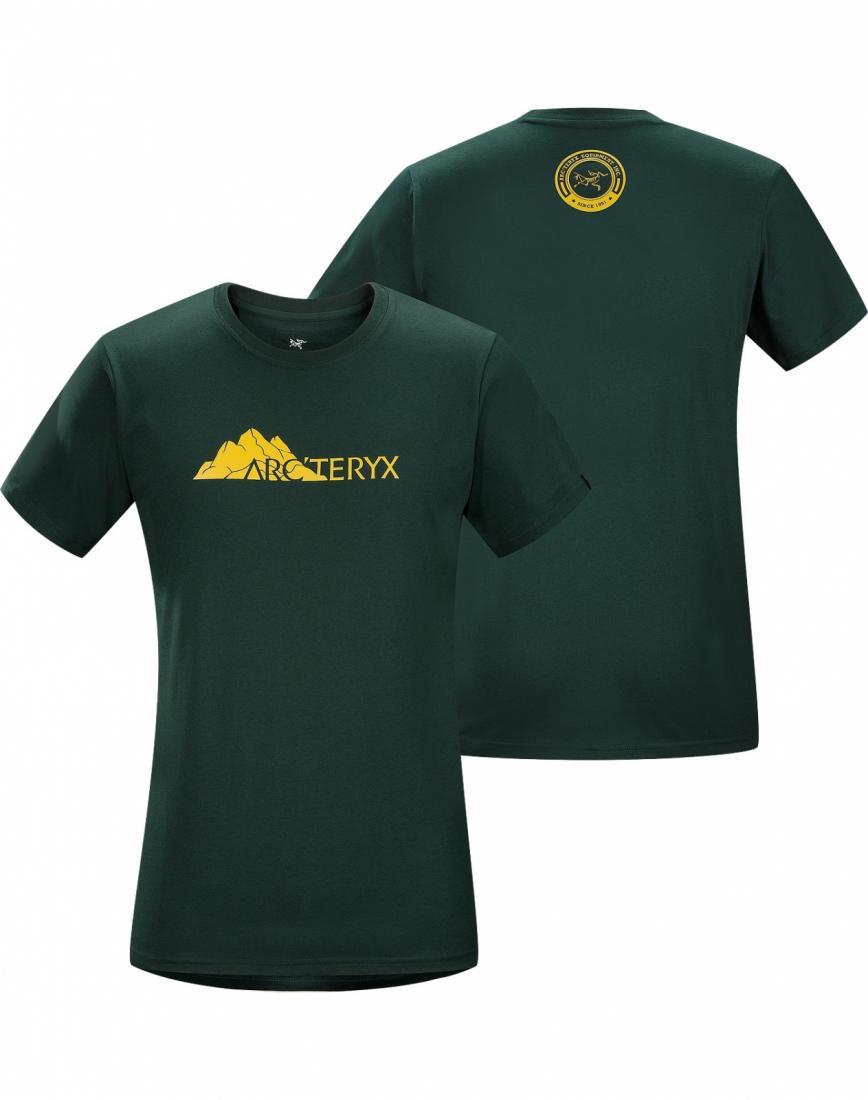 Футболка Range T-Shirt SS муж.Футболки, поло<br><br><br><br> Футболка из хлопка с короткими рукавами и с рисунком, нанесенным с помощью цифровой печати. <br><br><br> <br><br><br><br><br>Материал – ...<br><br>Цвет: Зеленый<br>Размер: XL