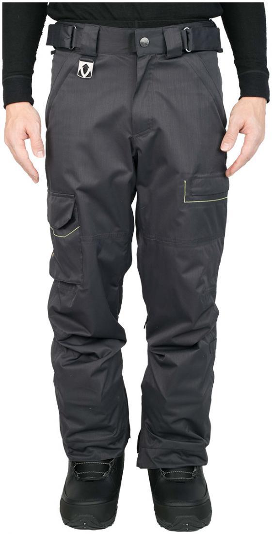 Штаны сноуб.STБрюки, штаны<br>Легкие сноубордические штаны ST<br><br>Регулировка объема в поясе<br>Внутренний манжет внизу с резинкой и крючком для шнурков<br>Ве...<br><br>Цвет: Серый<br>Размер: 56