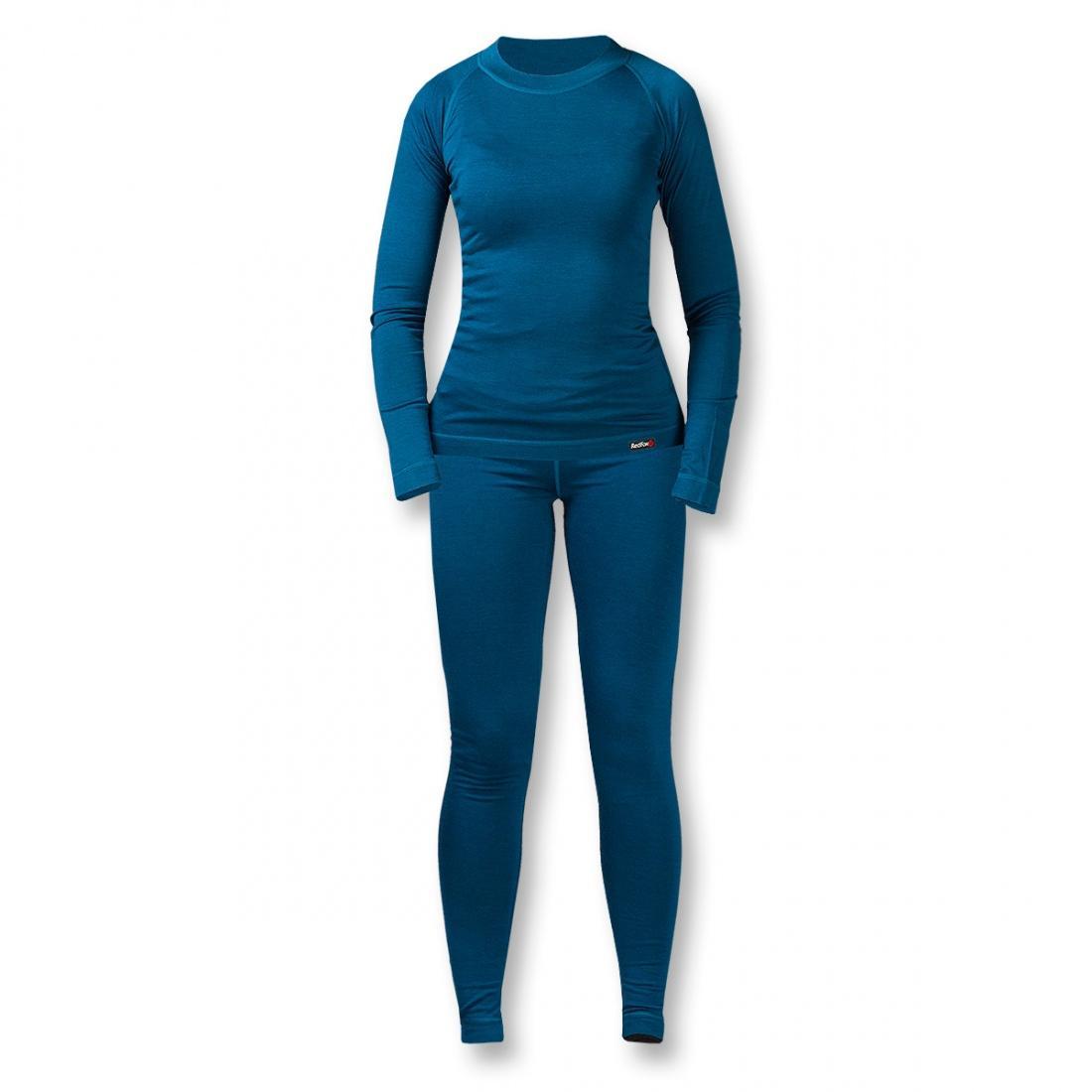 Термобелье костюм Wool Dry Light ЖенскийКомплекты<br><br> Тончайшее термобелье для женщин из мериносовой шерсти: оно достаточно теплое и пуловер можно носить как самостоятельный элемент одежды.В качестве базового слоя костюм прекрасно подходит для занятий спортом в холодную погоду зимой.<br><br><br> Ос...<br><br>Цвет: Синий<br>Размер: 44