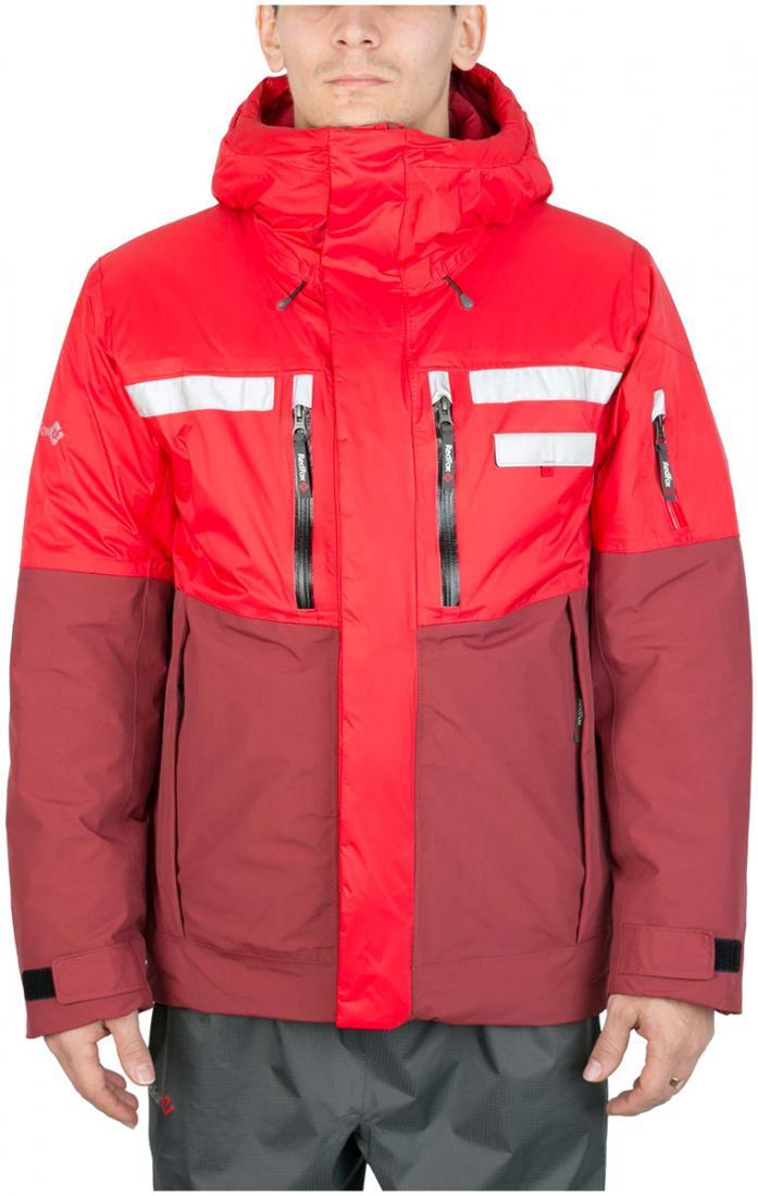 Куртка утепленная HuskyКуртки<br><br><br>Цвет: Красный<br>Размер: 54