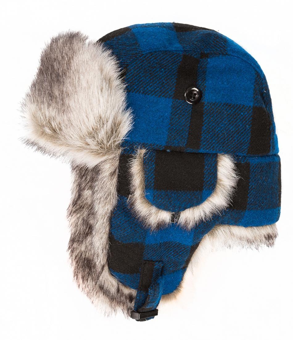 Шапка-ушанка Helmet ДетскаяУшанки<br>Теплая и уютная вязанная шапочка с ушками. Подкладка из искусственного меха исключительно сохраняет тепло и защищает от переохлаждения....<br><br>Цвет: Синий<br>Размер: 48-50