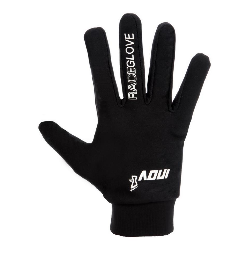Перчатки Race GloveПерчатки<br>Перчатки Inov-8 Race Glove созданы для занятий спортом в холодную погоду. Эластичные и легкие, они согревают руки и не снижают их чувствительность. Благодаря компактным размерам, перчатки при необходимости можно спрятать в карман. <br><br>эласт...<br><br>Цвет: Черный<br>Размер: L