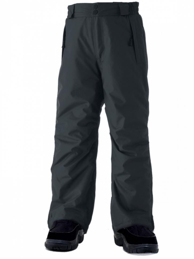 Брюки для мальчика SWZ3100001 WILDFIRE 8KБрюки, штаны<br>В брюках Wildfire можно наслаждаться катанием на горных лыжах или сноуборде в режиме нон-стоп. Эксклюзивный мембранный материал Surftex (8000 мм/8000 г/мм?)  не дает шансов не снегу, ни холоду. Утеплитель Thermosoft  сохраняет тепло и поддерживает макс...<br><br>Цвет: Черный<br>Размер: 104