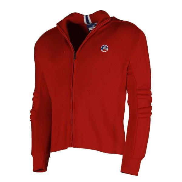 Куртка мужская E2020 LAYEКуртки<br><br> Теплый мужской пуловер Laye от бренда Fusalp – это сочетание великолепного французского качества, современных технологий вязки и натурального сырья. Модель прекрасно сочетается со спортивными вещами, брюками-чиносами и джинсами.<br><br><br><br>...<br><br>Цвет: Красный<br>Размер: XL
