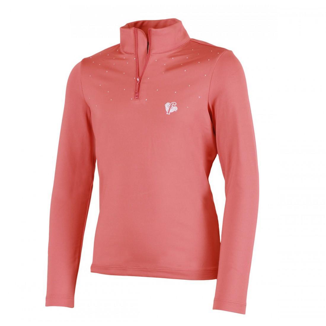 Свитер детск. J0102 JERKСвитеры<br><br> Теплый свитер для девочек Jerk от компании Fusalp будет уместен и на прогулке, и на уроке в школе, и на соревновании горнолыжников. Оригинальные узоры из страз и металлическая отделка делают модель женственной, элегантной и поистине универсальной.<br>...<br><br>Цвет: Алый<br>Размер: 4